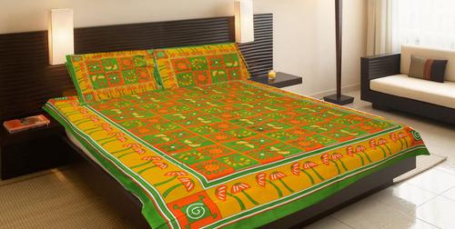 Ethnic Double Bed Sheet