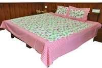 Handblock Double Bed Sheet