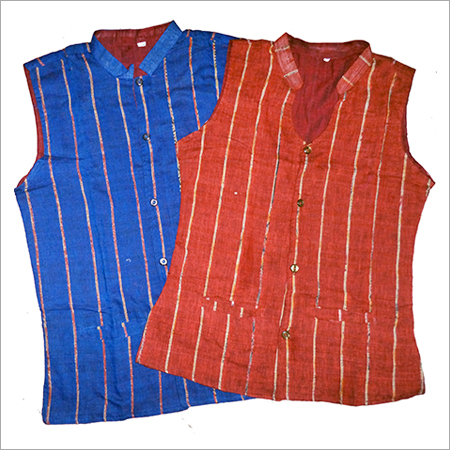 878b585e16ccd Ladies Sleeveless Jacket - TANT GHAR