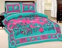 Chota Bheem Design Bedsheet