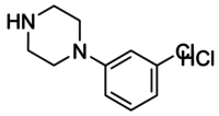 1-(3-Chlorophenyl)piperazine hydrochloride solution