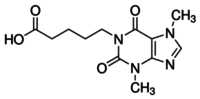 1-(4-Carboxybutyl)-3,7-dimethylxanthine