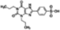 1,3-Dipropyl-8-(p-sulfophenyl)xanthine