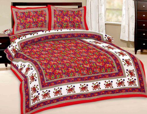 Elephant Designer Bedsheet