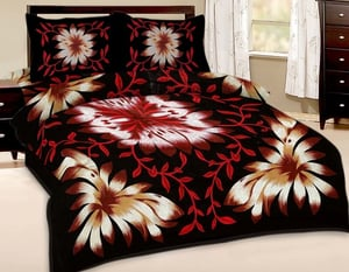 Indian Latest Ethnic Pure Cotton Bedsheet