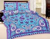 Indian Printed Cotton Bedsheet