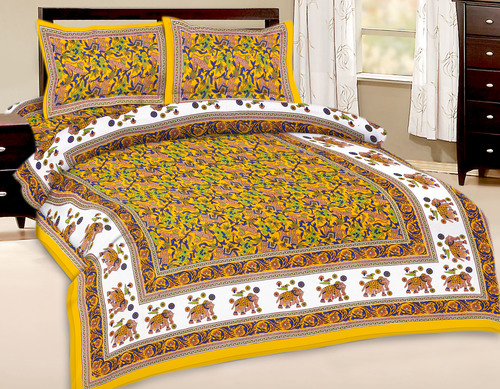 Digital Handmade Design  Bedsheet