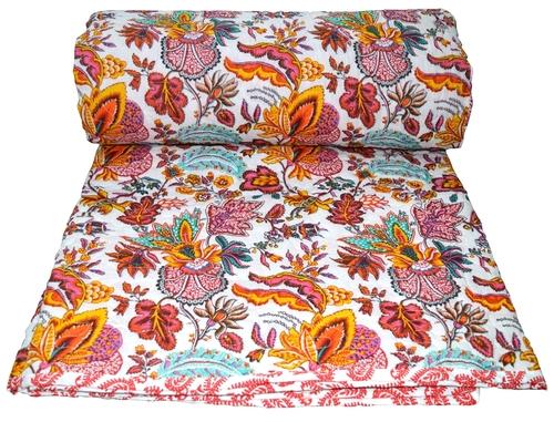 Flower Print Cotton Quilts