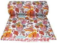 Flower Print Cotton Quilts