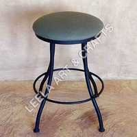 Round Circle Metal Stool