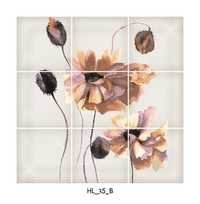 Flower Pattern Digital Floor Tiles