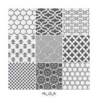 Grey Pattern Digital Floor Tiles