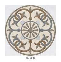 Antique Look Ceramic Tile Flooring