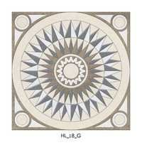 Round Pattern Ceramic Floor Tiles