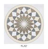 Traditional Round Type Ceramic Floor Tiles