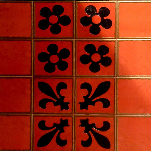 Fancy Hand Made Tiles