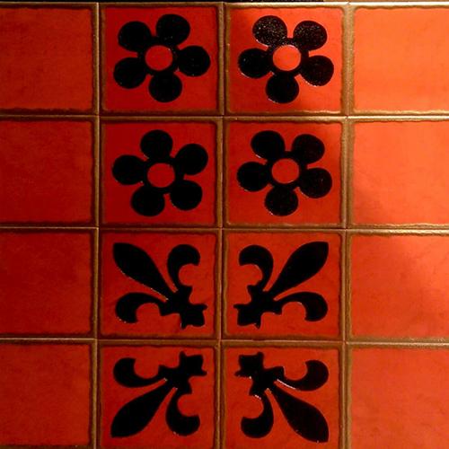 Fancy Hand Made Tiles