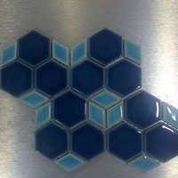 Glossy Ceramic Mosaic
