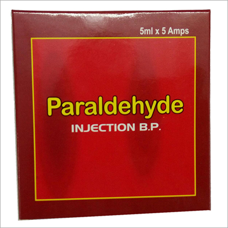 Paraldehyde Injection