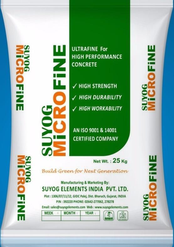 Microfine GGBS