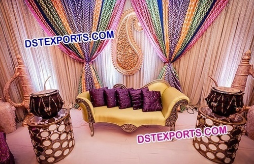 Backdrop for Mehendi Function
