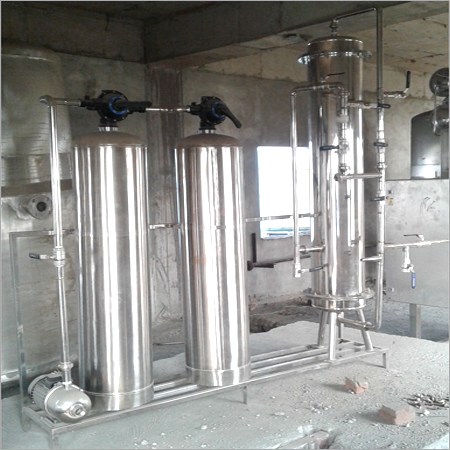 Stainless Steel DM Plant