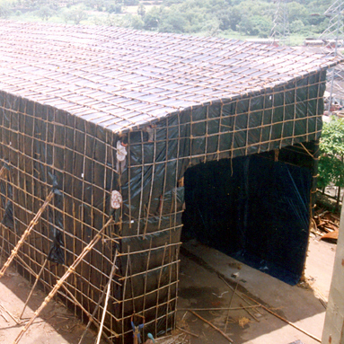 Temporary Monsoon Sheds
