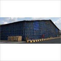 Tarpaulin Storage Sheds