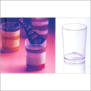 Plastic Round Cylindrical Glass (90 ml) PS 7