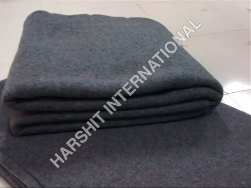 Grey Fleece Blanket