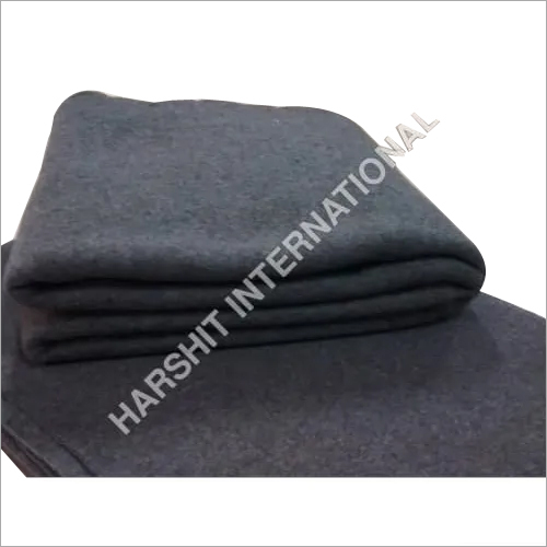Grey Fleece Blanket