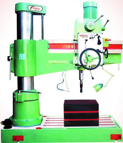 65mm Heavy Duty All Geared Radial Drill Machine