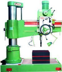 75mm Heavy Duty All Geared Radial Drill Machine