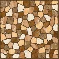 Rust Color Digital Floor Tiles