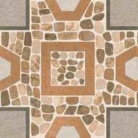 Indoor Pebble Tile Shower Floor