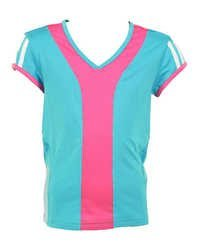 Ladies V Neck Sports T-Shirts