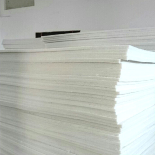 1000 GSM, 25mm Thick Polyester Synthetic Sheets