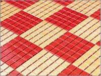 Chequered Exterior Floor Tiles