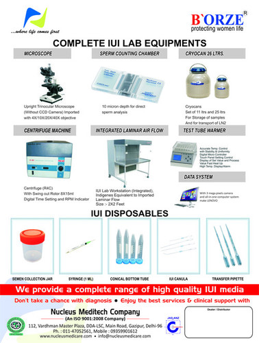 IUI Lab Equipments