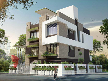 Apartment Exterior Designing Services