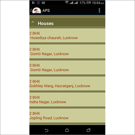 Real Estate Mobile App Solution