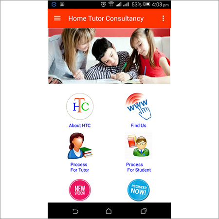 Education Consultancy Android App Design