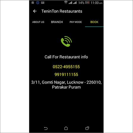 Restaurant Mobile App Development