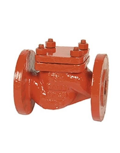 Sant Cast Steel Horizontal Check Valve