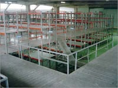 Mezzanine Floors Cum Pallet Racking System