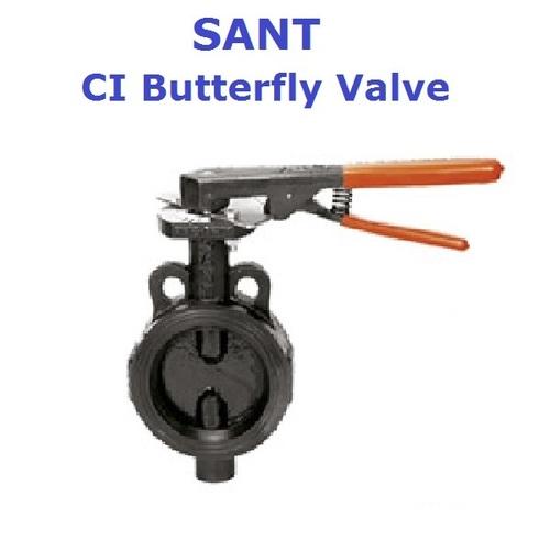 Sant CI Butterfly Valve