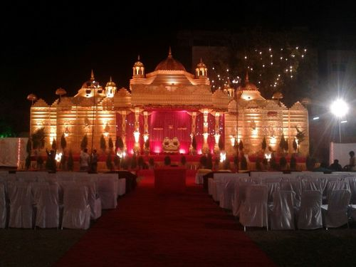 Akshardham Wedding Stage
