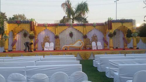 Wedding decorations in ahmedabad gujarat manufacturers dealers designer stage decorative wedding stage junglespirit Images