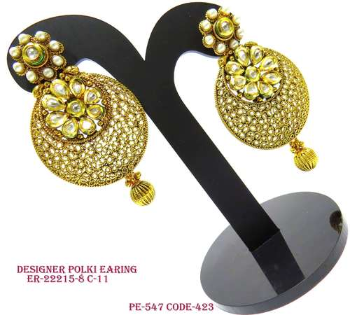 Polki Antique Earrings