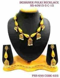Antique Polki Necklace Set